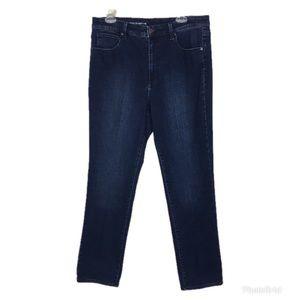 Talbots Flawless High Waist Straight Leg Jeans- 12